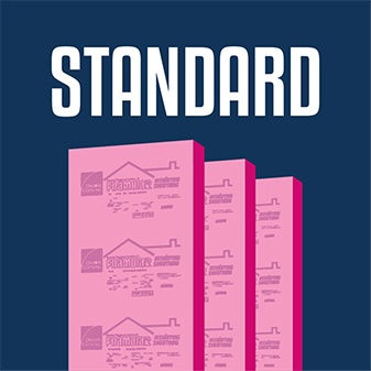 Proudly offering standard Owens Corning rigid foam insulation board for sale.