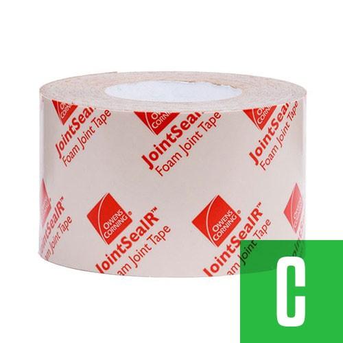 """Owens Corning 748555 JointSealR™ Foam Joint Tape 3.5"""" x 90' - CLEARANCE"""